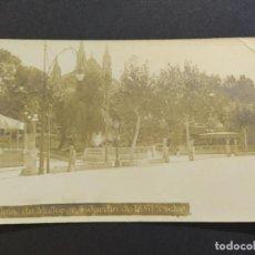 Postales: PALMA DE MALLORCA-JARDIN DE LA GLORIETA-POSTAL FOTOGRAFICA ANTIGUA-(66.668). Lote 191729717