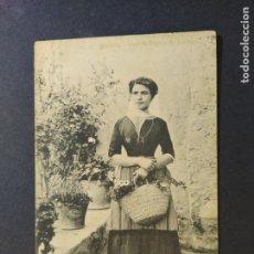 Postales: MALLORCA-TIPO DE PAYESA DE POLLENSA-POSTAL ANTIGUA-(66.669). Lote 191729895