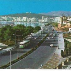 Postales: POSTAL PALMA DE MALLORCA - PASEO MARITIMO - ICARIA 1969. Lote 191929735