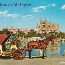 Cartes Postales: PALMA DE MALLORCA. ... 1 AGUJERO DE CHINCHETA. Lote 191988432