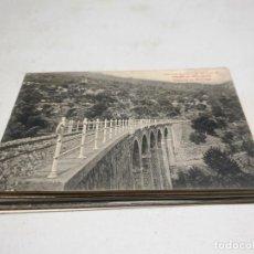 Postales: POSTAL ANTIGUA MALLORCA. VIADUCTO DE MONT-REAL. LIBRERÍA ESCOLAR. . Lote 192001673