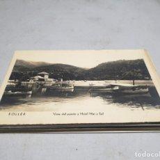 Postales: POSTAL ANTIGUA MALLORCA. SÓLLER. VISTA DEL PUERTO Y HOTEL MAR Y SOL. . Lote 192077925