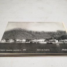 Postales: POSTAL ANTIGUA MALLORCA. POLLENSA. PARTE DEL PUERTO. . Lote 192078572