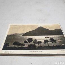 Postales: POSTAL ANTIGUA MALLORCA. FORMENTOR. VISTA DESDE EL HOTEL. ESCRITA. Lote 192079263