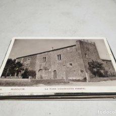 Postales: POSTAL ANTIGUA MALLORCA. MANACOR. LA TORRE. . Lote 192080013