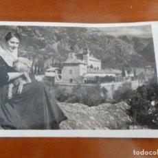 Postales: MALLORCA VALLDEMOSA ATLOTA Y CARTUJA POSTAL ORIGINAL ANTIGUA CIRCULADA CON SELLO. Lote 192126935