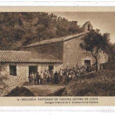 Postales: 26185- EXTRAORDINARIA POSTAL ANTIGUA- SANTUARIO DE NTRA.SRA. DE LLUCH - NUEVA . Lote 192183972