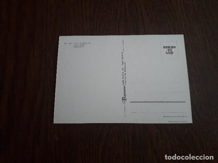 Postales: postal de Cala Esmeralda, Mallorca años 80 - Foto 2 - 277677553