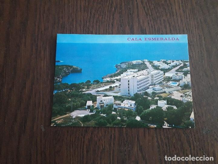 POSTAL DE CALA ESMERALDA, MALLORCA AÑOS 80 (Postales - España - Baleares Moderna (desde 1.940))