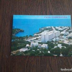 Postales: POSTAL DE CALA ESMERALDA, MALLORCA AÑOS 80. Lote 277677553