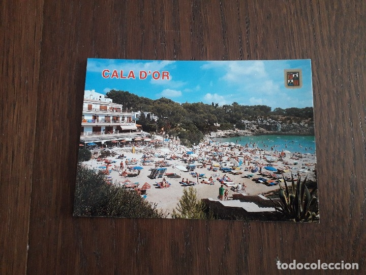 POSTAL DE PLAYA CALA FERRERA, MALLORCA AÑOS 80 (Postales - España - Baleares Moderna (desde 1.940))
