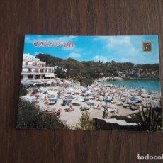 Postales: POSTAL DE PLAYA CALA FERRERA, MALLORCA AÑOS 80. Lote 277677573