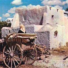 Cartes Postales: IBIZA CONSTRUCCION Y VEHICULOS TIPICOS ED. A. CAMPAÑA KOLORHAM Nº IB 4407 AÑO 1956. Lote 192780068