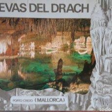 Postales: POSTAL ES CUEVAS DEL DRACH ACORDEÓN DE 10. Lote 193393945