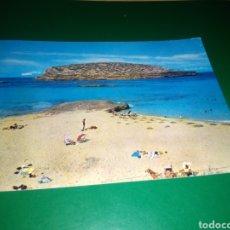 Postales: ANTIGUA POSTAL DE IBIZA. PLAYA DE CONTA. SAN ANTONIO. AÑOS 60. Lote 194226433