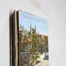 Postales: POSTAL ANTIGUA MALLORCA. LA GLORIETA Y LA CATEDRAL. AM 105. Lote 194227500