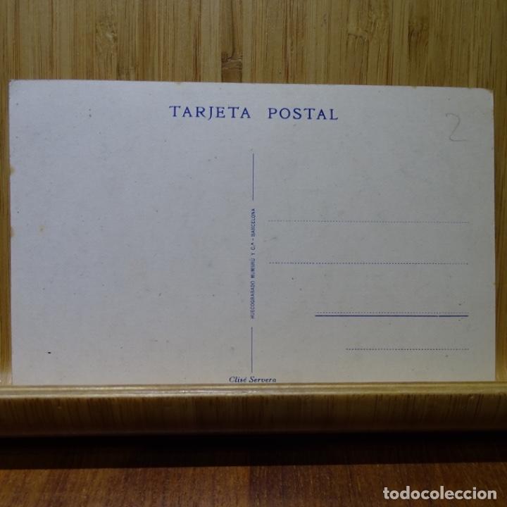 Postales: Postal de cuevas de drach.mallorca.gondola en el lago martel.clise servera. - Foto 2 - 210303206