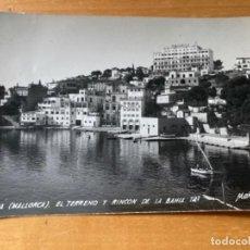 Postales: ANTIGUA POSTAL PALMA MALLORCA EL TERRENO Y RINCÓN DE LA BAHÍA 121. Lote 194298125