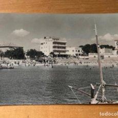 Postales: ANTIGUA POSTAL PALMA PLAYA CAN PASTILLA HOTEL PLAYA D'OR 141. Lote 194298506