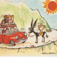 Postales: POSTAL ILUSTRADA DE HUMOR. MALLORCA. . Lote 194330748