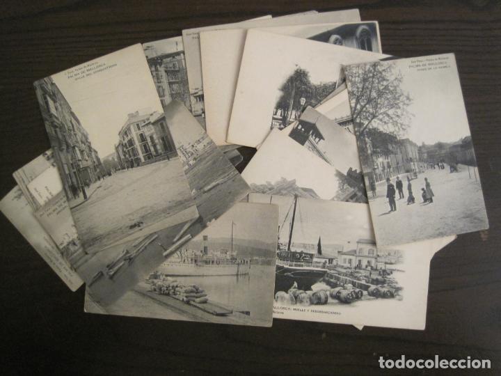 MALLORCA-LOTE DE 20 POSTALES ANTIGUAS-JOSE TOUS-REVERSO SIN DIVIDIR-VER FOTOS-(67.005) (Postales - España - Baleares Antigua (hasta 1939))