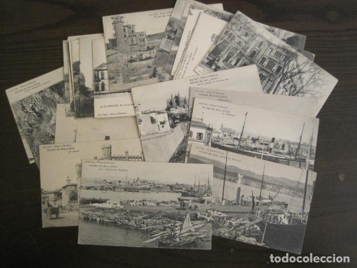 MALLORCA-LOTE DE 26 POSTALES ANTIGUAS-JOSE TOUS-REVERSO DIVIDIDO-VER FOTOS-(67.007) (Postales - España - Baleares Antigua (hasta 1939))