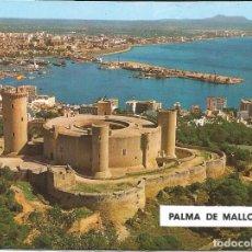 Postales: [POSTAL] CASTILLO DE BELLVER. PALMA DE MALLORCA (ISLAS BALEARES) (SIN CIRCULAR). Lote 194502553
