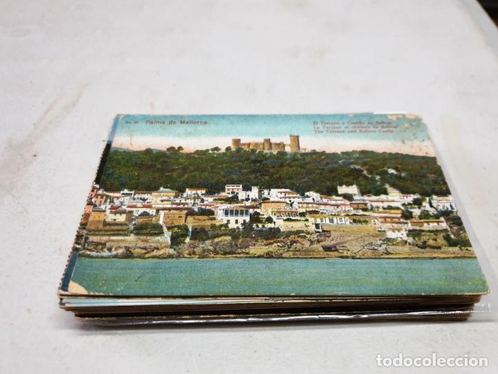 POSTAL ANTIGUA MALLORCA. EL TERRENO Y CASTILLO DE BELLVER. AM 25. (Postales - España - Baleares Antigua (hasta 1939))