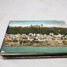 Postales: POSTAL ANTIGUA MALLORCA. EL TERRENO Y CASTILLO DE BELLVER. AM 25. . Lote 194513377