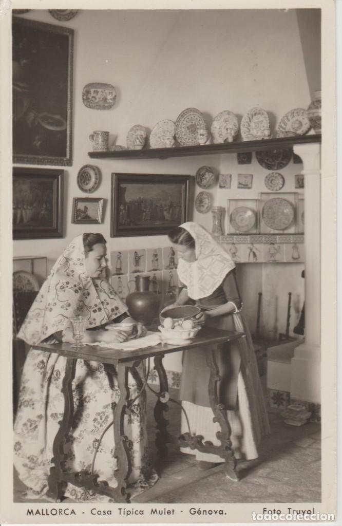 MALLORCA. CASA TIPICA MULET. (Postales - España - Baleares Antigua (hasta 1939))