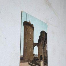 Postales: POSTAL ANTIGUA MALLORCA. CASTILLO DE BELLVER. TORRE DEL HOMENAJE. AM 7. Lote 194617501