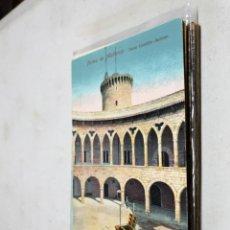 Postales: POSTAL ANTIGUA MALLORCA. PATIO DEL CASTILLO DE BELLVER. AM. Lote 194617542