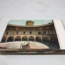 Postales: POSTAL ANTIGUA MALLORCA. CASTILLO DE BELLVER. PATIO INTERIOR. AM 14. Lote 194617578