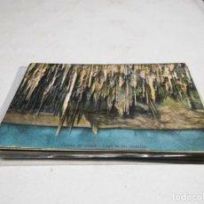 Postales: POSTAL ANTIGUA MALLORCA. CUEVAS DEL DRACH. LAGO DELICIAS. AM. Lote 194617740