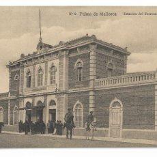 Cartoline: PALMA DE MALLORCA - ESTACIÓN DEL FERROCARRIL DE SOLLER - P30000. Lote 194638515