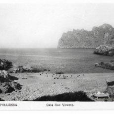 Postales: POLLENÇA - CALA SAN VICENTE - P30000. Lote 194644063
