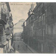 Postales: INCA - CALLE MAYOR - P30000. Lote 194644322