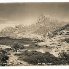 Postales: MALLORCA - CALA SAN VICENTE - P30000. Lote 194645045