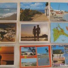 Postales: LOTE 16 POSTALES DE FORMENTERA + 1 POSTAL DE IBIZA ISLAS BALEARES . Lote 194715100