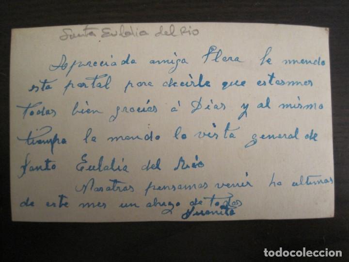 Postales: SANTA EULALIA DEL RIO-POSTAL FOTOGRAFICA ANTIGUA-(67.883) - Foto 3 - 194725072