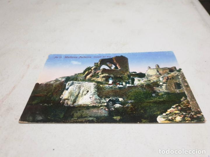 POSTAL ANTIGUA MALLORCA. POLLENSA. CASTELL DEL REY. AM 71 (Postales - España - Baleares Antigua (hasta 1939))