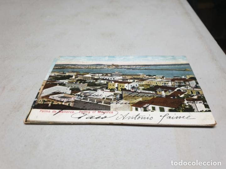 POSTAL ANTIGUA PALMA DE MALLORCA. AM. DORSO SIN DIVIDIR. (Postales - España - Baleares Antigua (hasta 1939))