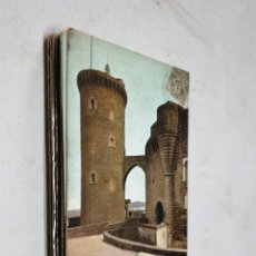 Postales: POSTAL ANTIGUA MALLORCA. CASTILLO DE BELLVER. TORRE HOMENAJE. AM. DORSO SIN DIVIDIR. . Lote 194880691