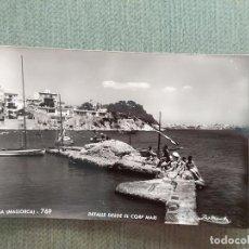 Postales: POSTAL PALMA MALLORCA DETALLE DESDE EL CORP MARI. Lote 194988042