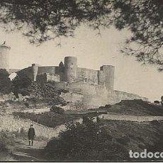 Postales: X123127 ISLAS BALEARES RARA POSTAL FOTOGRAFICA DE PALMA DE MALLORCA DEL CASTEL DE BELLVER. Lote 195018173