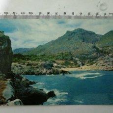 Postales: FOTO POSTAL MALLORCA CALA SAN VICENTE, CIRCULADA CON SELLO VER. Lote 195049651