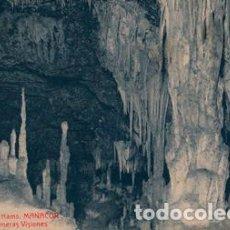 Postales: POSTAL CUEVAS DELS HAMS MANACOR - 5 LAS PRIMERAS VISIONES. Lote 195068843