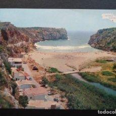 Postales: MENORCA, CALA EN PORTER (ALAYOR), POSTAL CIRCULADA DEL AÑO 1967. Lote 195139082