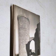 Postales: POSTAL ANTIGUA MALLORCA. CASTILLO DE BELLVER. TORRE. TRUYOL. . Lote 195322373