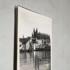 Postales: POSTAL ANTIGUA MALLORCA. LA CATEDRAL Y PALACIO DE LA ALMUDAINA. TRUYOL. . Lote 195322581